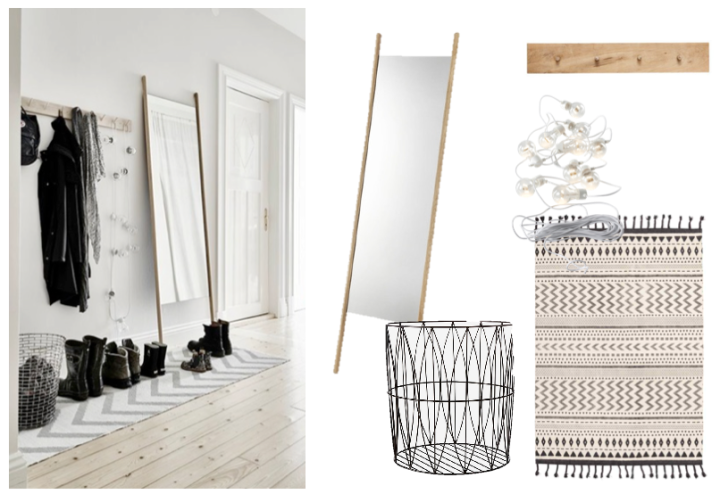 Atelier Krogbeck - simple hallway, get the look