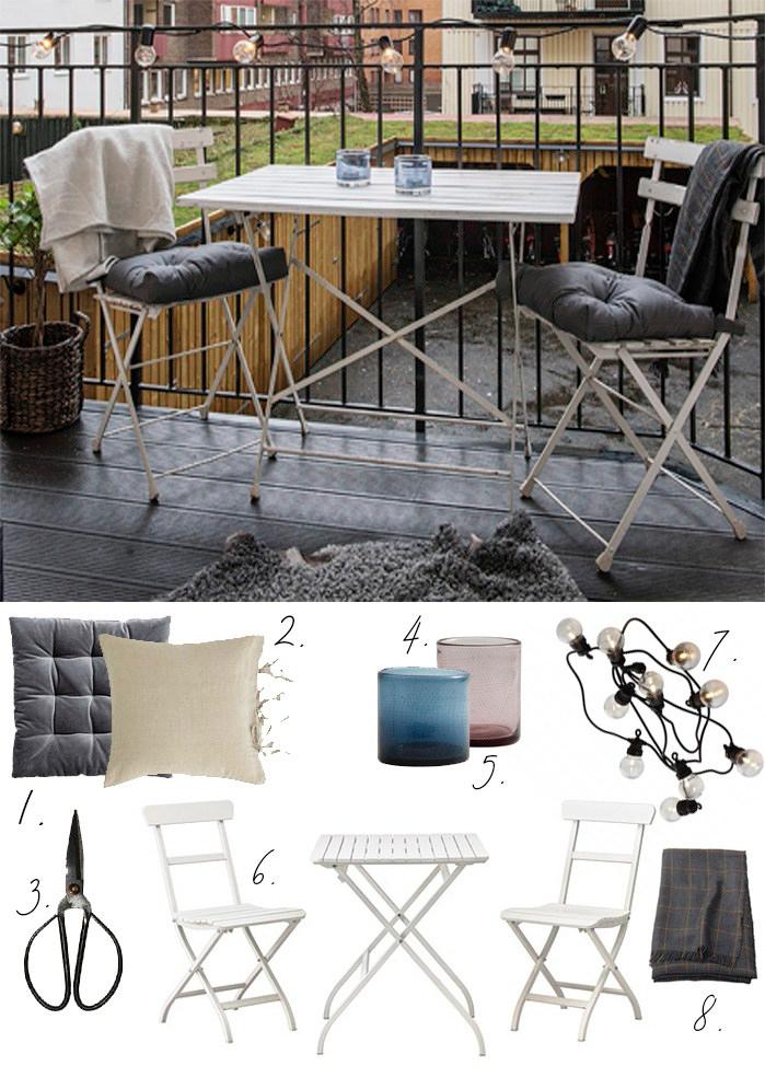 Get the look balcony atelier Krogbeck