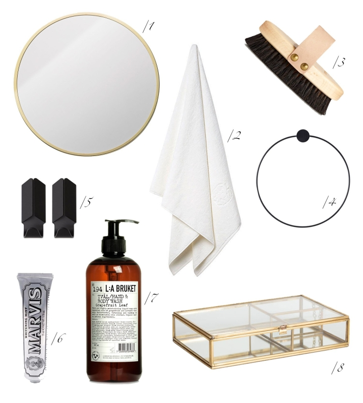 Bathroom essentials, Atelier Krogbeck