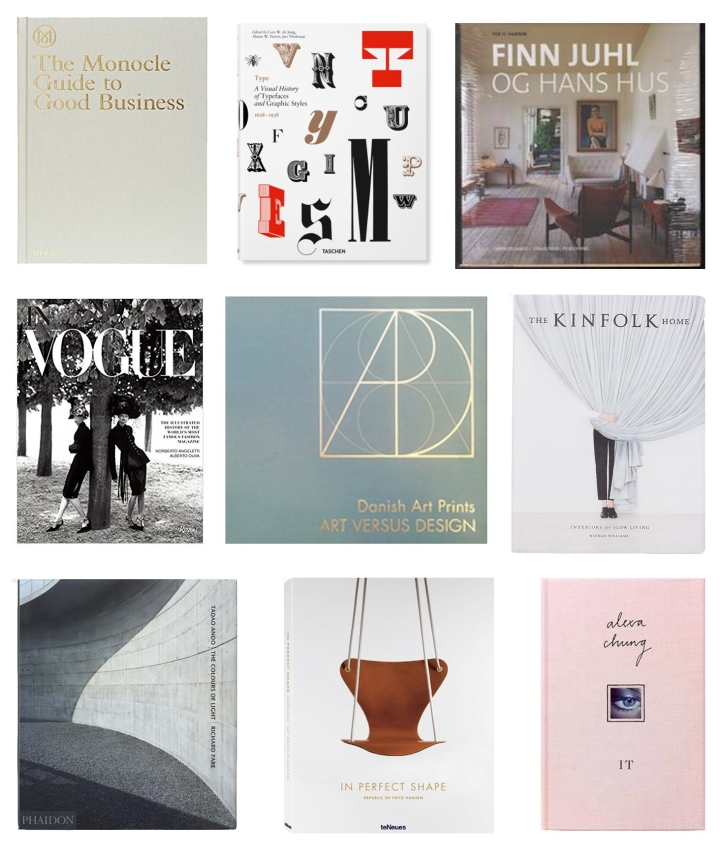Coffe table bøger, Atelier Krogbeck
