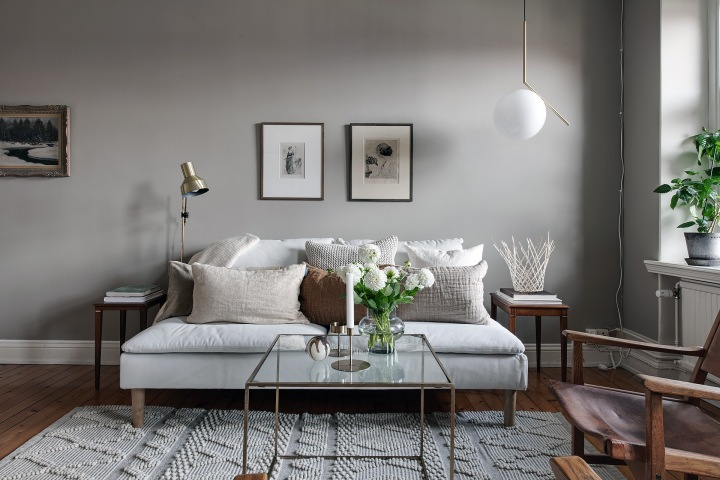 Atelier Krogbeck, golden livingroom 1