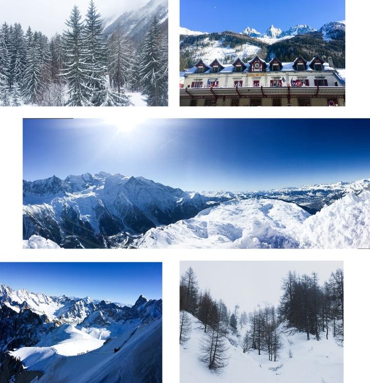 Chamonix, Mont Blanc, ski